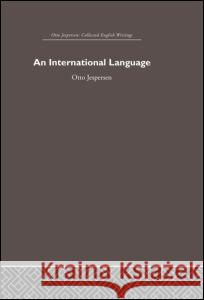 International Language Otto Jespersen 9780415402460