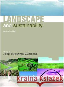 Landscape and Sustainability Maggie Roe 9780415404433