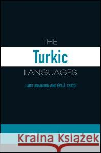 The Turkic Languages Johanson/Csato 9780415412612