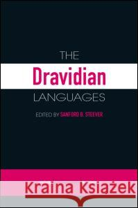 The Dravidian Languages Sanford B. Steever 9780415412674