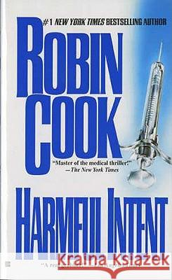 Harmful Intent Robin Cook 9780425125465
