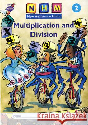 New Heinemann Maths Yr2, Multiplication Activity Book (8 Pack) Scottish Primary Mathematics Group 9780435169886
