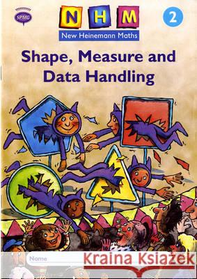 New Heinemann Maths Year 2, Shape, Measure and Data Handling Activity Book (8 Pack)   9780435169909