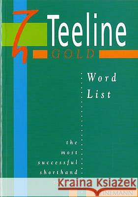 Teeline Gold Word List Mavis Smith 9780435453596