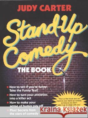 Stand-Up Comedy: The Book Judy Carter 9780440502432