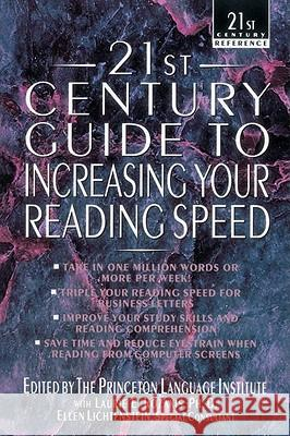 21st Century Guide to Increasing Your Reading Speed Philip Lief Group 9780440613879