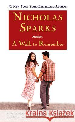 A Walk to Remember Nicholas Sparks 9780446608954