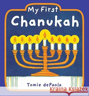 My First Chanukah Tomie dePaola Tomie dePaola 9780448448596