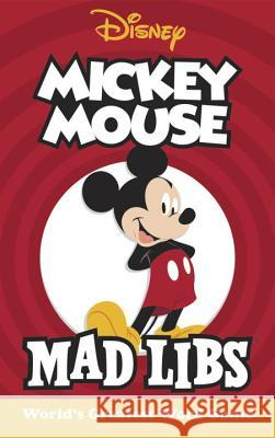 Mickey Mouse Mad Libs Mickie Matheis 9780451534002