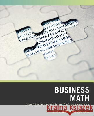 Wiley Pathways Business Math Steve Slavin Tere Stouffer 9780470007198