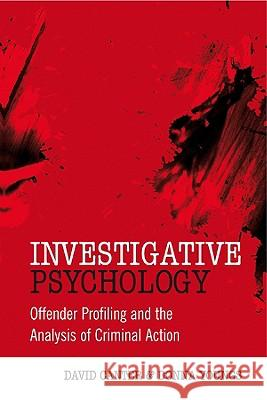 Investigative Psychology David Canter Donna Youngs 9780470023969