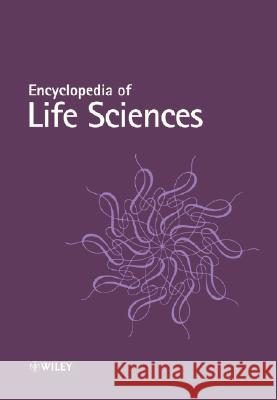 Encyclopedia of Life Sciences: Supplementary 6 Volume Set John Wiley & Sons Inc                    John Wiley John Wiley & Sons Inc 9780470061411