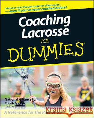 Coaching Lacrosse For Dummies   9780470226995