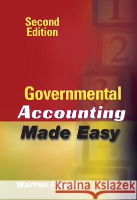 Governmental Accounting Made Easy Warren Ruppel 9780470411506