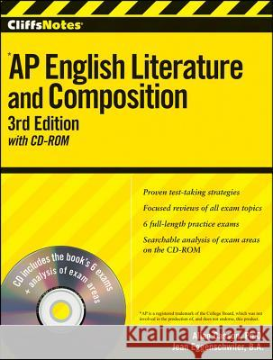 Cliffsnotes AP English Literature and Composition [With CDROM] Allan Casson 9780470607589