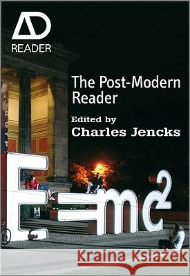 The Post-Modern Reader Charles Jencks   9780470748671
