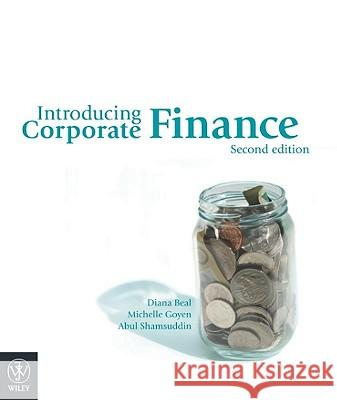 Introducing Corporate Finance Diana J. Beal 9780470813768