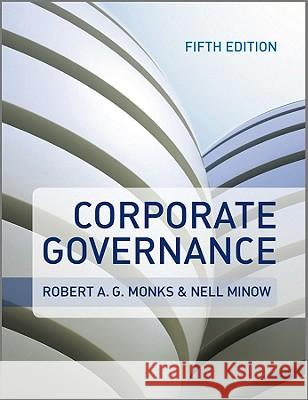 Corporate Governance Robert A G Monks 9780470972595
