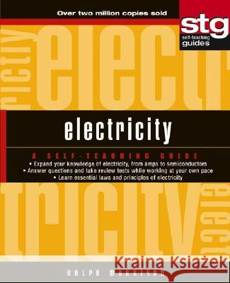 Electricity: A Self-Teaching Guide Ralph Morrison 9780471264057