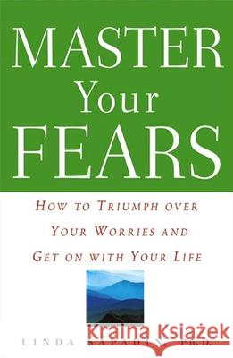 Master Your Fears: How to Triumph Over Your Worries and Get on with Your Life Linda Sapadin 9780471272724