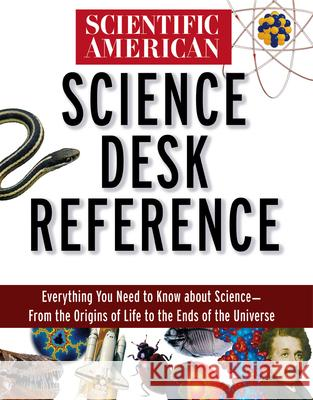 Scientific American Science Desk Reference Scientific American 9780471356752