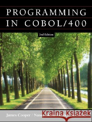 Structured COBOL Programming for the As400 James Cooper Robert A. Stern Nancy Stern 9780471418467