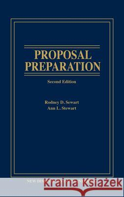 Proposal Preparation Rodney D. Stewart Ann L. Stewart 9780471552697