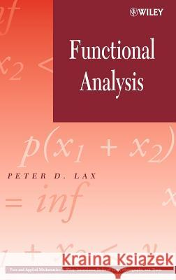 Functional Analysis Peter D. Lax 9780471556046