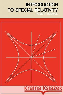 Introduction to Special Relativity Robert Resnick 9780471717256
