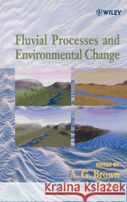 Fluvial Processes and Environmental Change A. G. Brown T. A. Quine Tony Brown 9780471985488