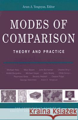 Modes of Comparison: Theory & Practice Aram Yengoyan 9780472069187