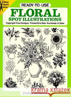 Ready-To-Use Floral Spot Illustrations Stefen Bernath 9780486260648