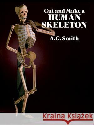 Cut and Make a Human Skeleton A. G. Smith 9780486261249 Dover Publications