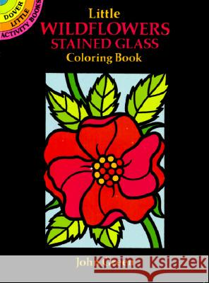 Little Wildflowers Stained Glass Coloring Book John Green 9780486272252