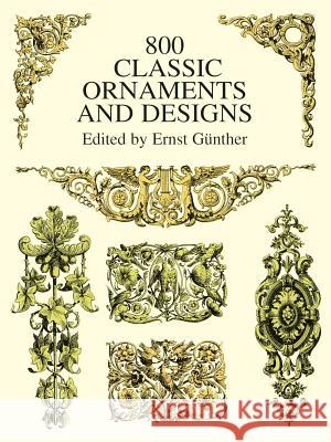 800 Classic Ornaments and Designs Ernst Gunther 9780486402611