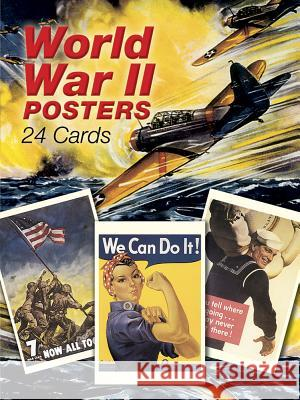 World War II Posters: 24 Cards Florence Leniston Leniston 9780486416755