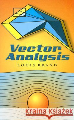 Vector Analysis Louis Brand 9780486450308