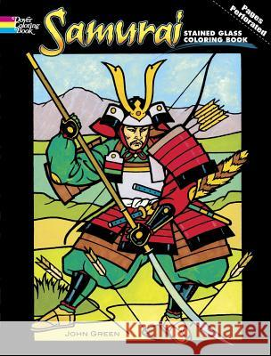 Samurai Stained Glass Coloring Book John Green 9780486465586