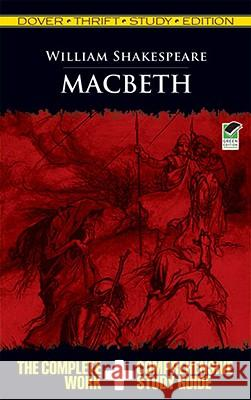 Macbeth Thrift William Shakespeare 9780486475752