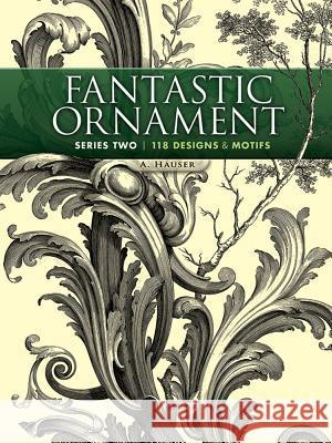 Fantastic Ornament, Series Two: 118 Designs and Motifs A Hauser 9780486491219 0