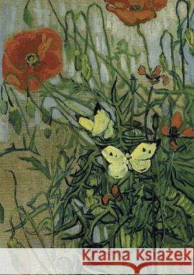 Van Gogh's Butterflies and Poppies Notebook Vincent Va 9780486846200