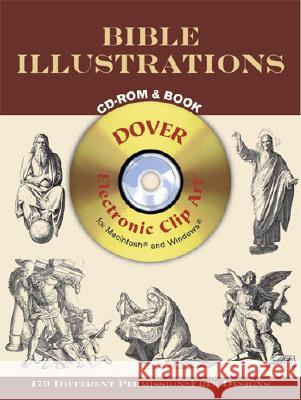 Bible Illustrations CD-ROM and Book Dover Publications Inc                   Julius Schnorr Von Carolsfeld 9780486995632