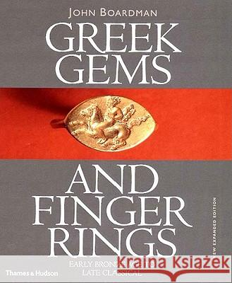 Greek Gems and Finger Rings John Boardman Robert L. Wilkins 9780500237779