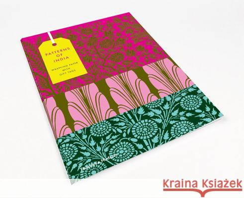 Patterns of India: 10 Sheets of Wrapping Paper with 12 Gift Tags Henry Wilson 9780500420560 Thames & Hudson