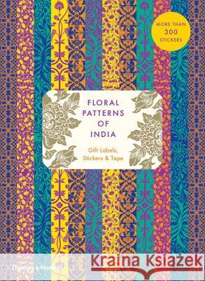 Floral Patterns of India: Gift Labels, Stickers and Tape Wilson, Henry 9780500420874