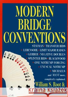 Modern Bridge Conventions William S. Root W. Root Richard Pavlicek 9780517884294