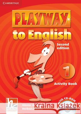 Playway to English, Level 1 [With CDROM] Gerngross Gunter Puchta Herbert 9780521129930