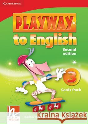 Playway to English Level 3 Flash Cards Pack Gunter Gerngross Herbert Puchta 9780521131315