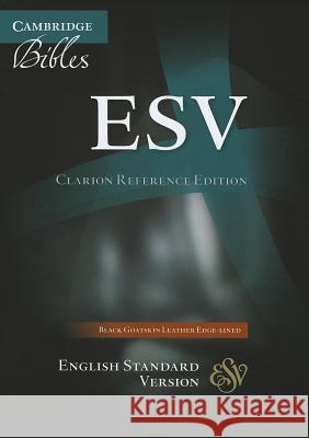 Clarion Reference Bible-ESV  9780521182911