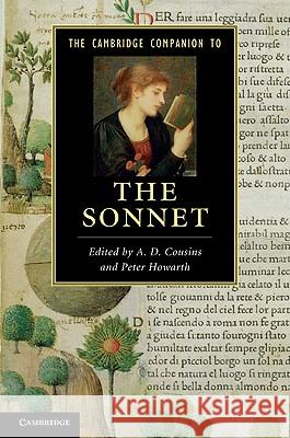 The Cambridge Companion to the Sonnet A D Cousins 9780521514675 0